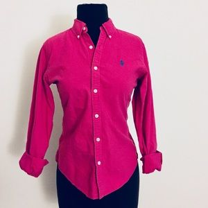 ❗️Ralph Lauren Slim Fit Pink Button Down MSRP $98!